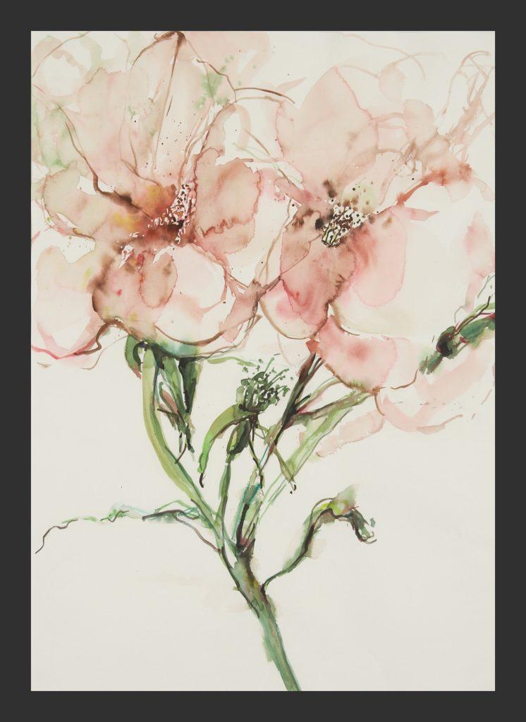 Rosen, 2013, Aquarell, 50x70 cm