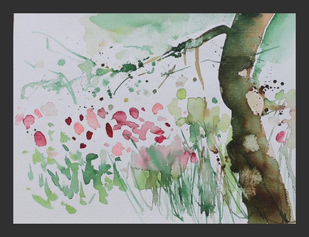 Tulpen, 2008, Aquarell, 24x32 cm