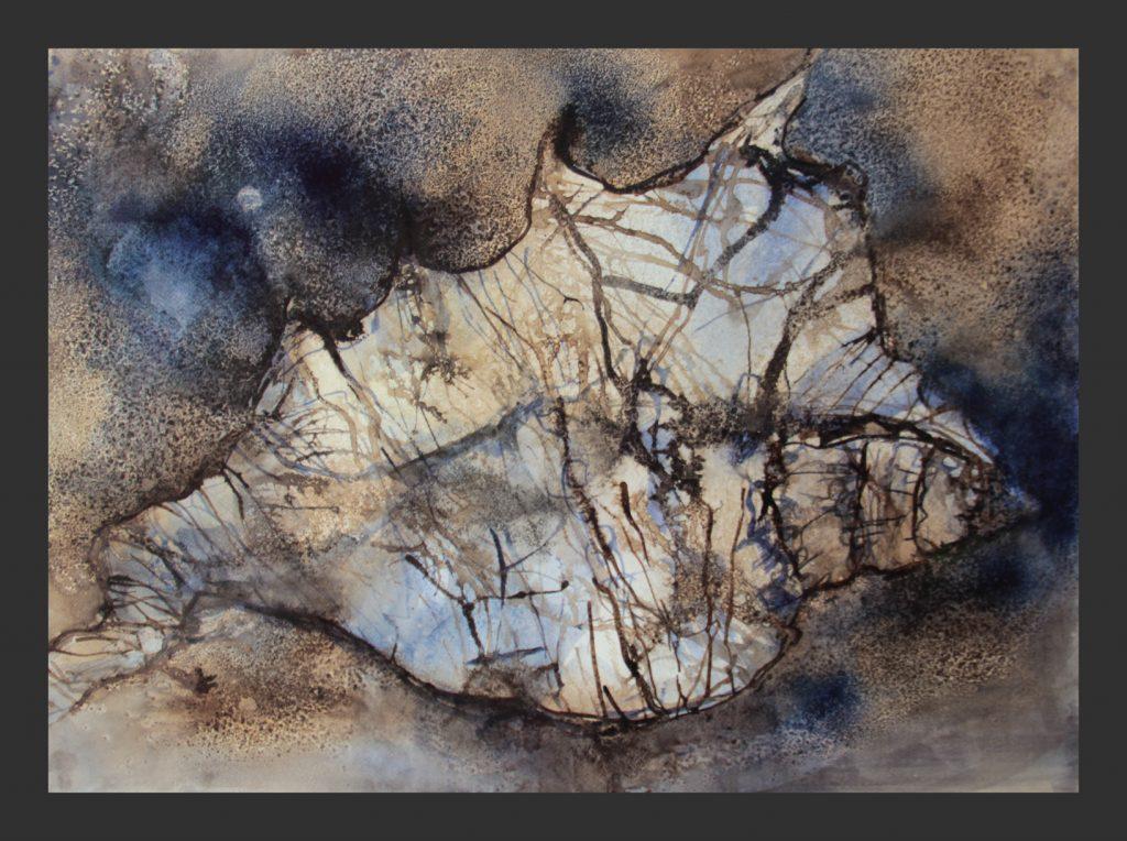 Muschel, 2016, Aquarell, 50x70 cm