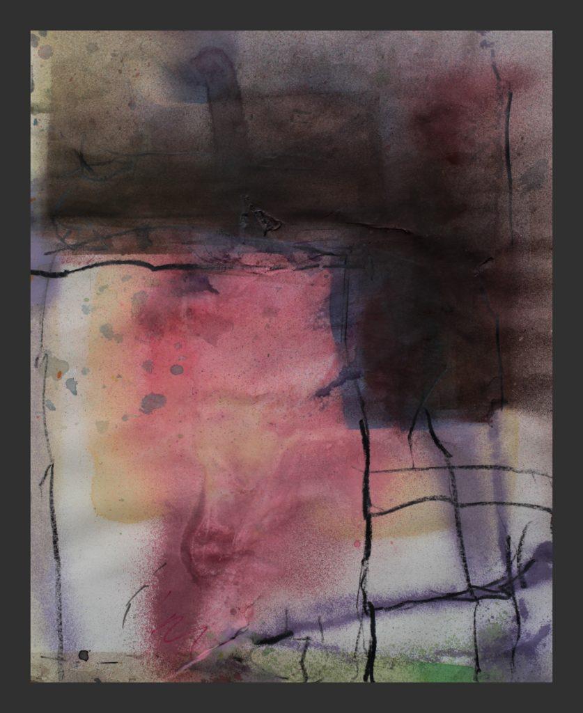 2015, Aquarell und Kreide, 40x50cm