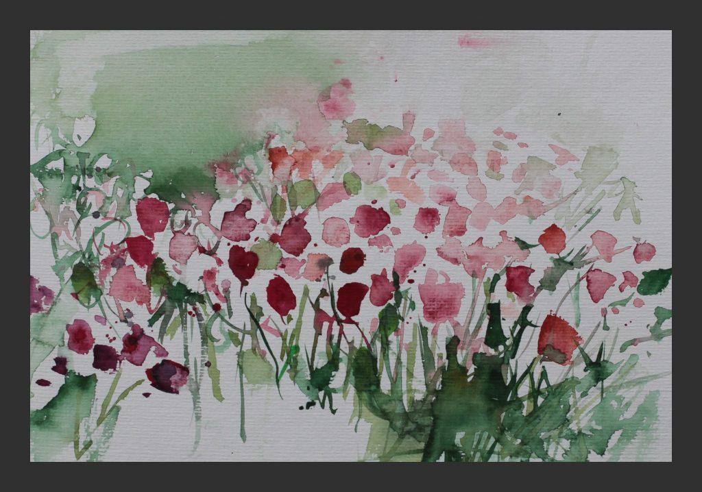 Mainau, 2008, Aquarell, 24x32 cm