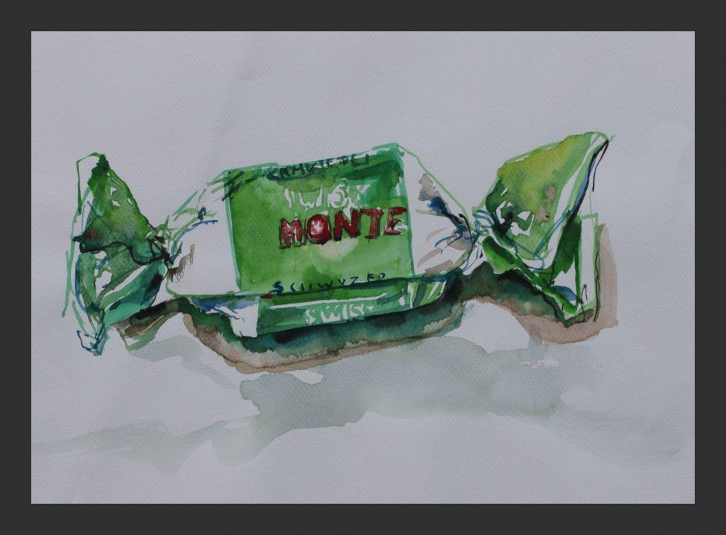 Monte, 2012, Aquarell, 24x32 cm
